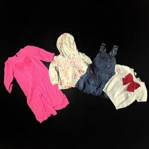 Girls Various Clothes Sizes 12-24 Months